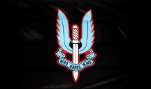 SPECIAL AIR SERVICE (SAS) - 3 X 2 FLAG